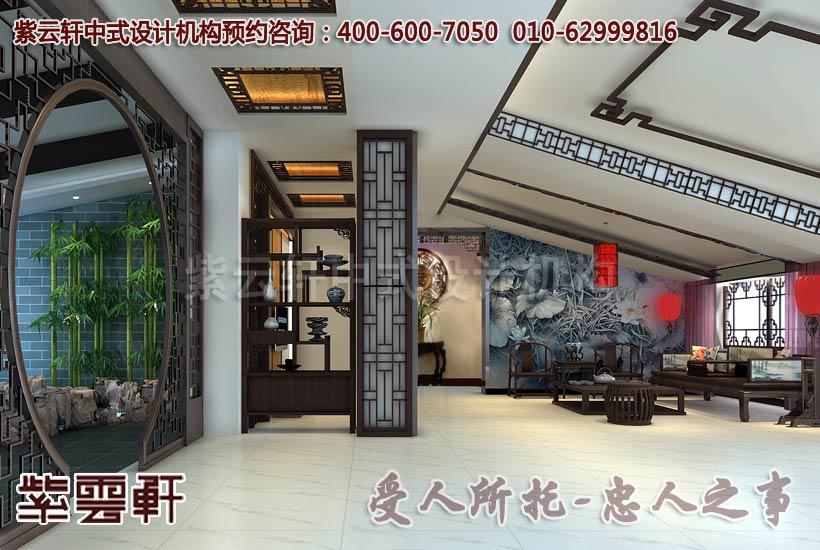 新中式风格豪华别墅装修大概多少钱一平方?
