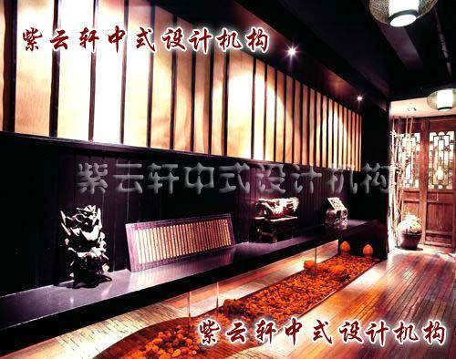 富阳茶楼中式装修设计-东方人的独特情调