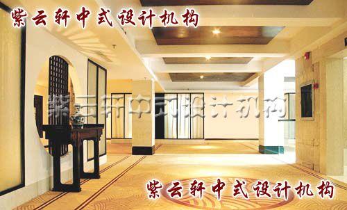 酒店中式装修设计之房间过道
