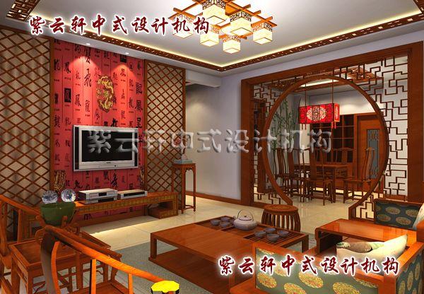 新中式装修设计客厅-闲暇小坐、品茗会友,典雅之所在