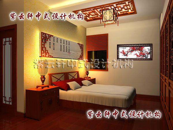 新中式装修设计卧室:雅致,温馨