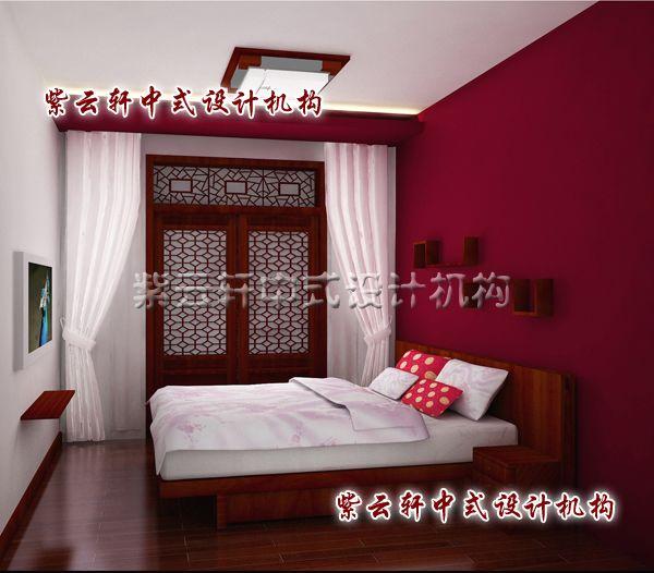 新中式装修设计之女儿房:浪漫的风情