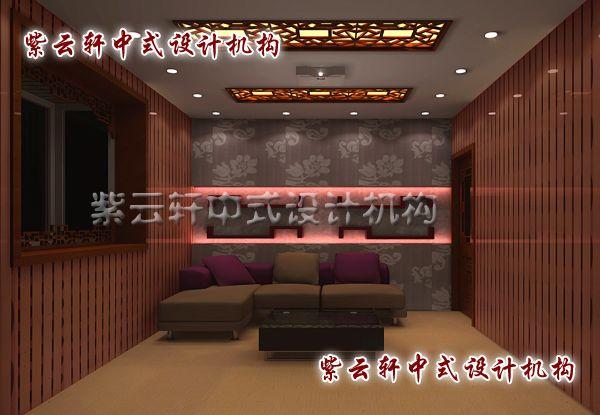 新中式装修设计之影音室