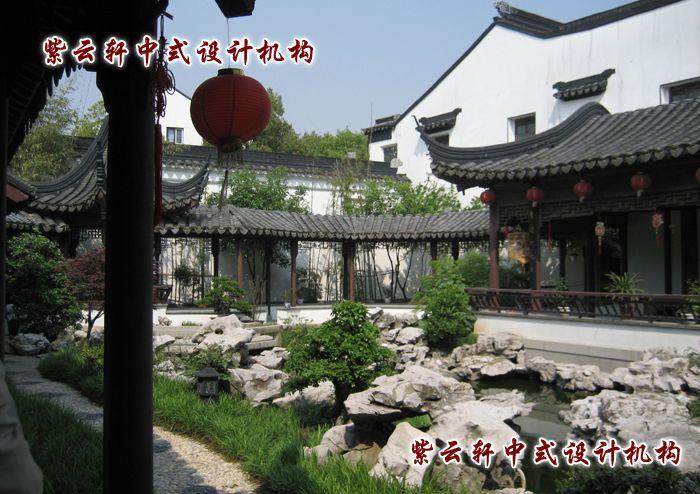 1古典园林竹子造景艺术手法竹里通幽竹里通幽艺术手法指古典园林中