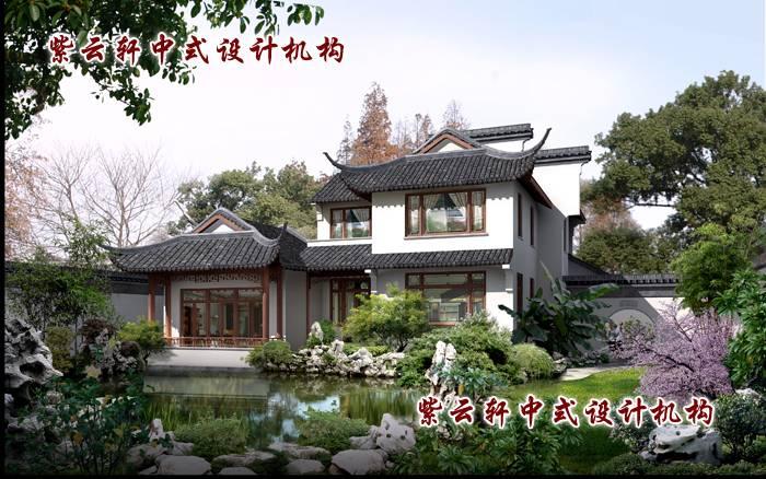 杭州某傍山别墅庭院景观设计,写意空间,完美呈现