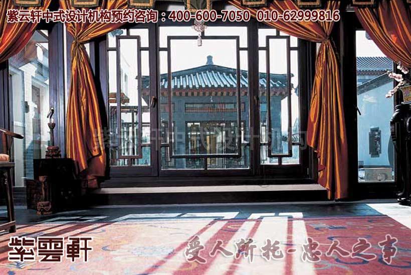 观唐样板间纯古典中式装修设计,内敛的中式装饰和散发古典