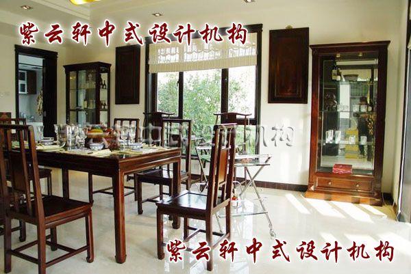 现代中式装修设计之餐厅