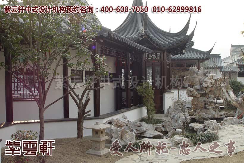 新古典中式装修之江南中式豪宅古典中式装饰设计