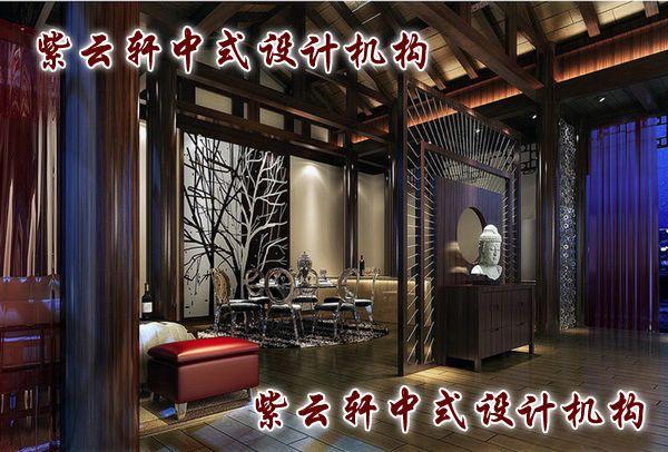 新中式四合院装修设计-休闲室:一种风度,别样风情