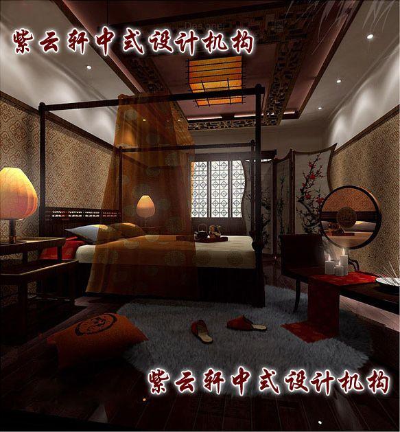 新中式四合院装修设计-女儿房:雅致浪漫的闺房