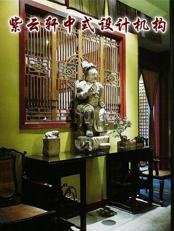 茶馆中式装修设计-过道:穿过时光的隧道