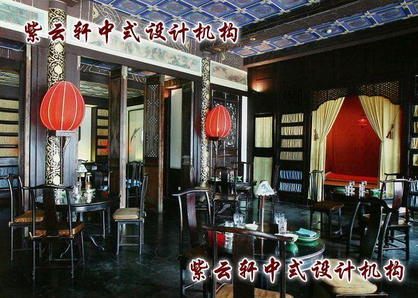 茶馆中式装修设计-大包间:简洁,更有休憩之所