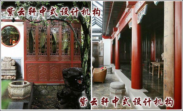 茶馆中式装修设计-廊道:这边风景独好