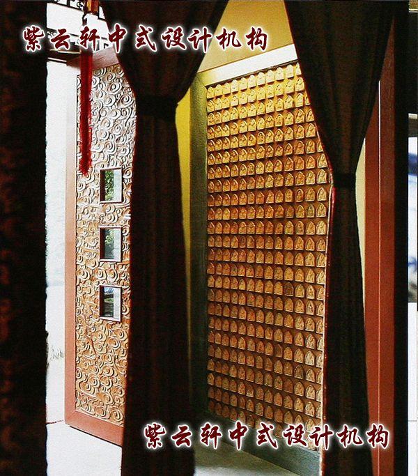 茶馆中式装修-门廊:古朴的神秘