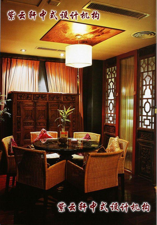 茶馆中式装修-包间:好友小聚,家人座谈,幽静的氛围