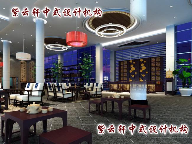 三五好友小坐品茶、商谈交流,大气、优雅的空间