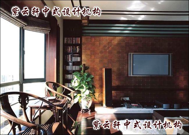 休闲会所中式小会客厅