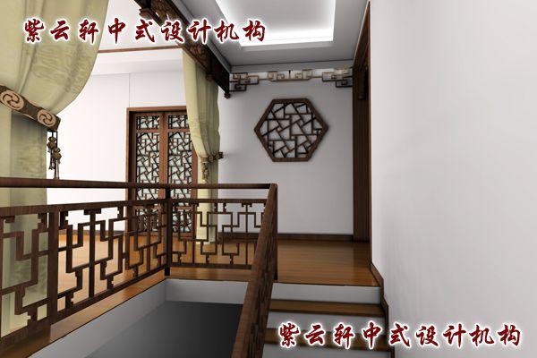 四合院古典中式装修风格设计-过道:移步变景,乃中式设计之精髓
