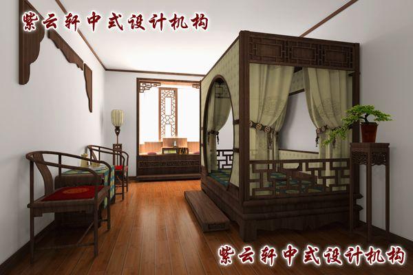四合院古典中式装修风格设计-卧室:追求的是那一种心灵皈依之所