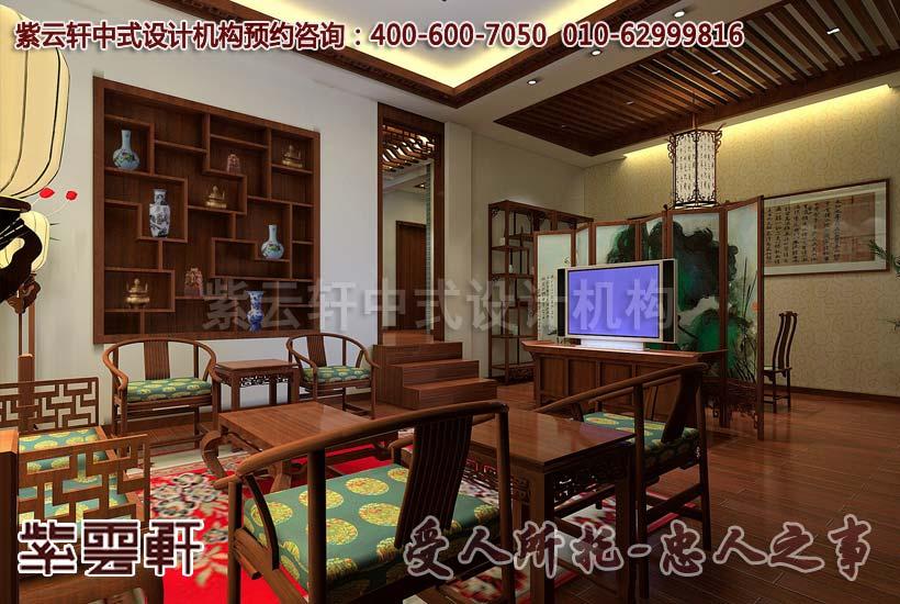 别墅中式装修之古典中式设计传神意境-品味中式家居