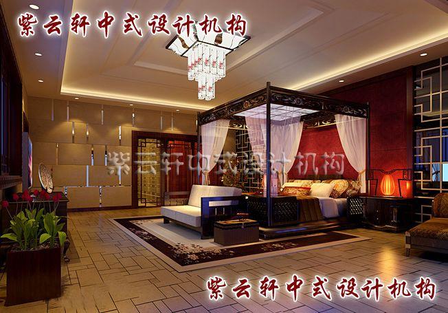 四合院中式卧室:用古典与浪漫打造出一个温馨的空间