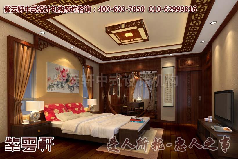 卧室:绫罗绸缎富贵家,只见舒适与贵气,高枕自无忧