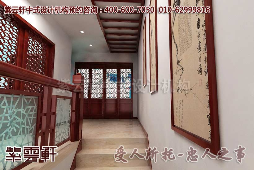 江南别墅简约中式风格装修设计,苏州某别墅中式装饰