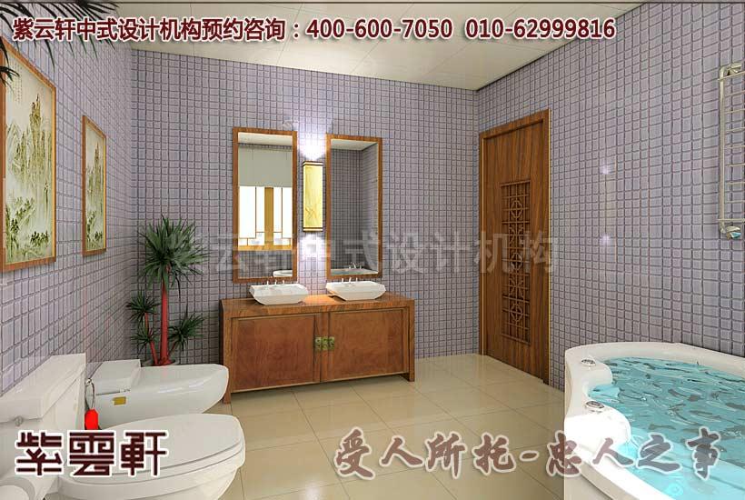 中式别墅装修风格-男孩房