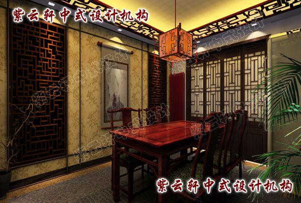 中式餐厅:为家人营造一个和谐的就餐氛围