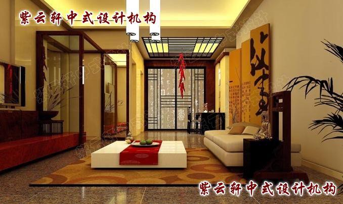 中式客厅:典雅与华丽无处不在