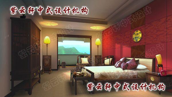 中式卧室:一室古色古香,温馨的情调