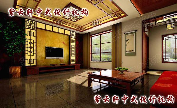 中式客厅:家人闲坐,更见富贵与融洽