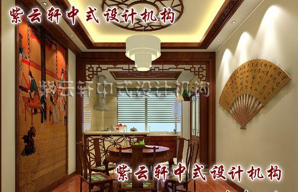 古典简约中式装修风格案例-忆江南古典中式装修设计赏析