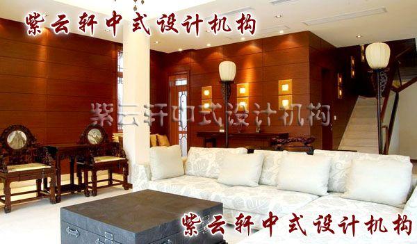 新中式客厅:百宝箱代替了茶桌,让中式与西式完美融合。