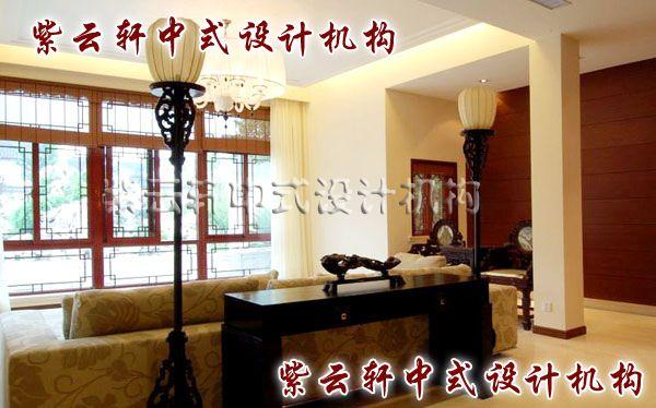 新中式客厅-三两件厚重的中式元素,让客厅的文化底蕴更深邃。