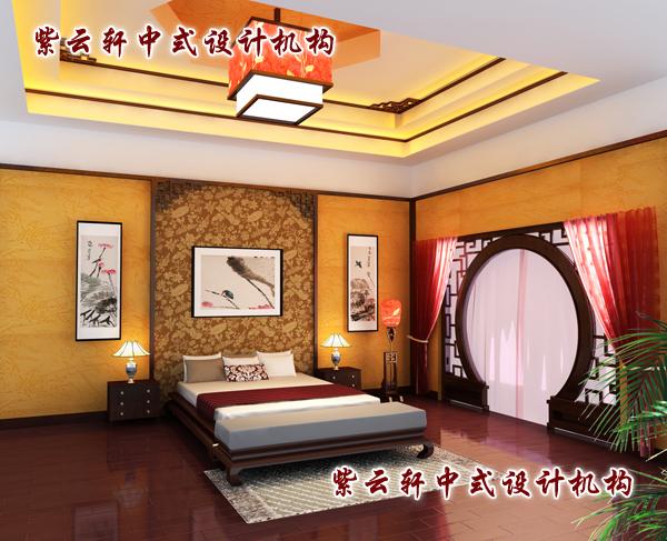 中式装修设计卧室