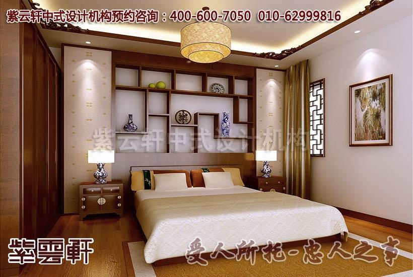 豪华装修图片大全---为您展示复古中式样板房装修效果