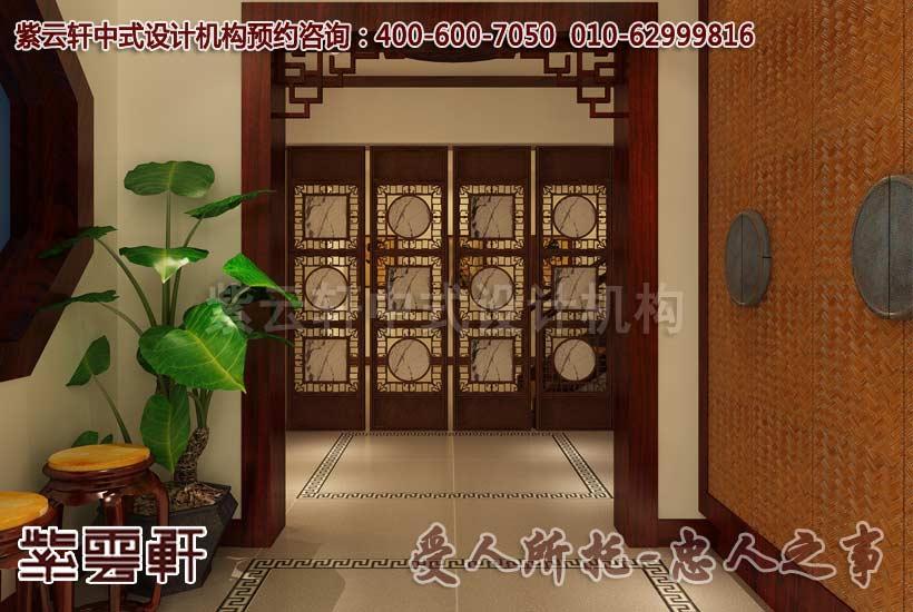 玄关中式装饰