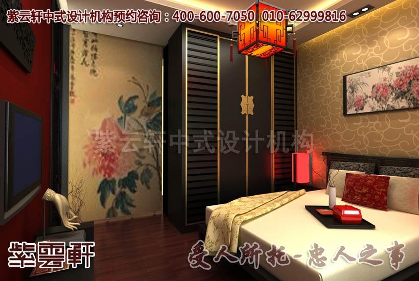 新古典中式装修风格-卧室