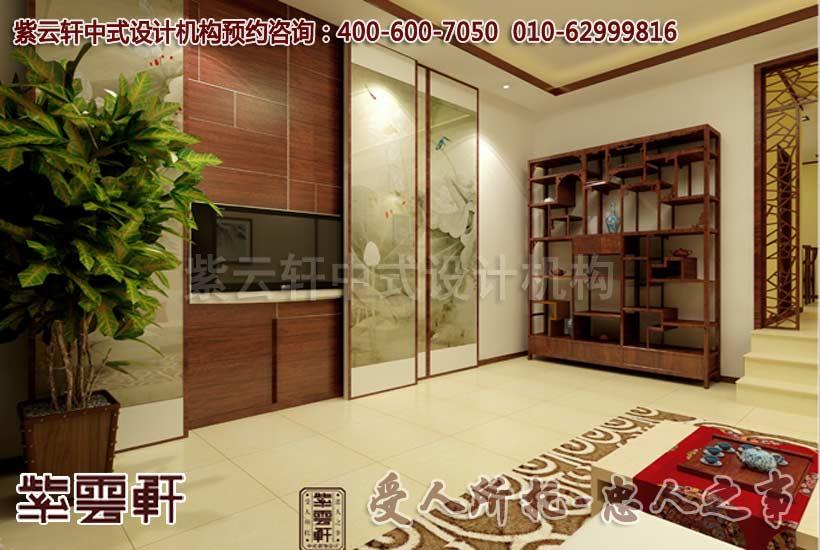 客厅中式装修-简约中式风格