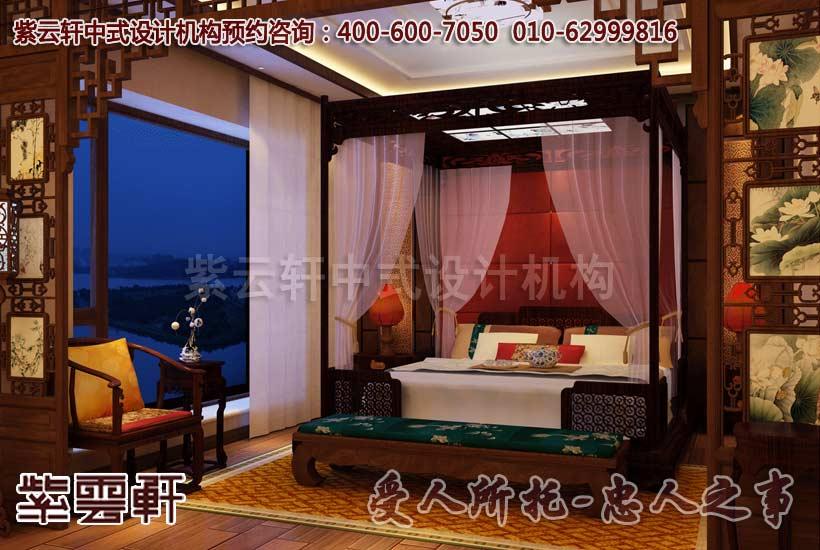 广州某别墅简约古典中式风格别墅装饰-高贵典雅的理想