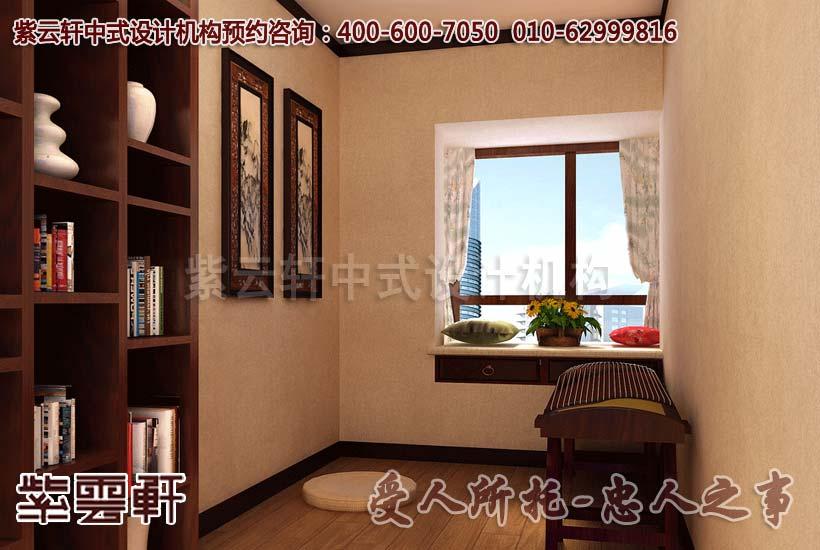 别墅中式装修-禅室