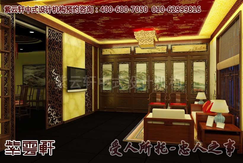 中式会所茶室