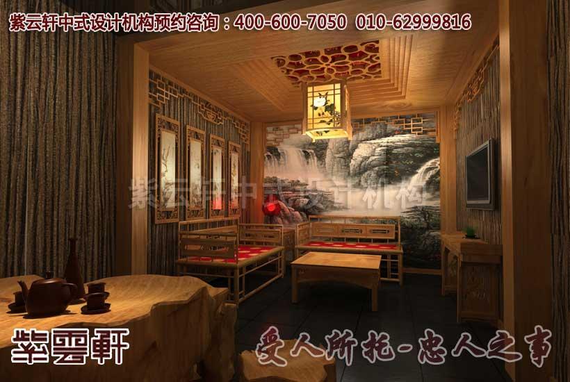 中式会所茶厅