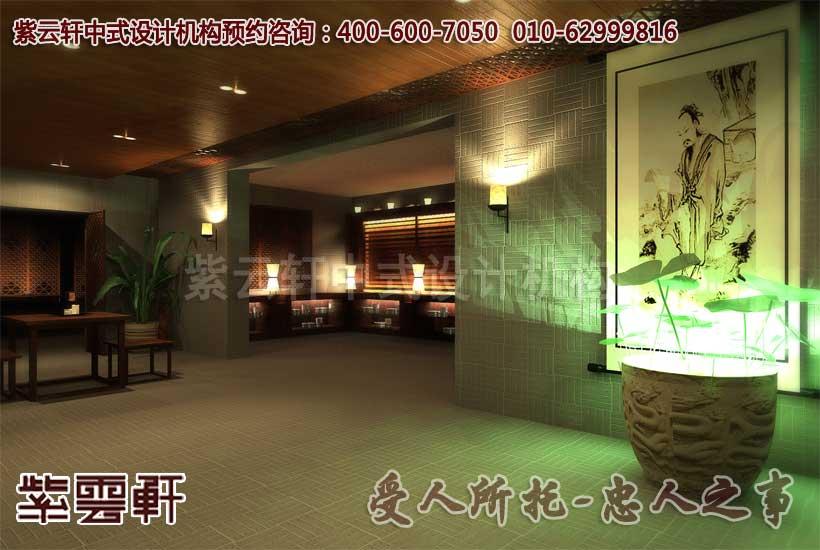中式茶馆大厅