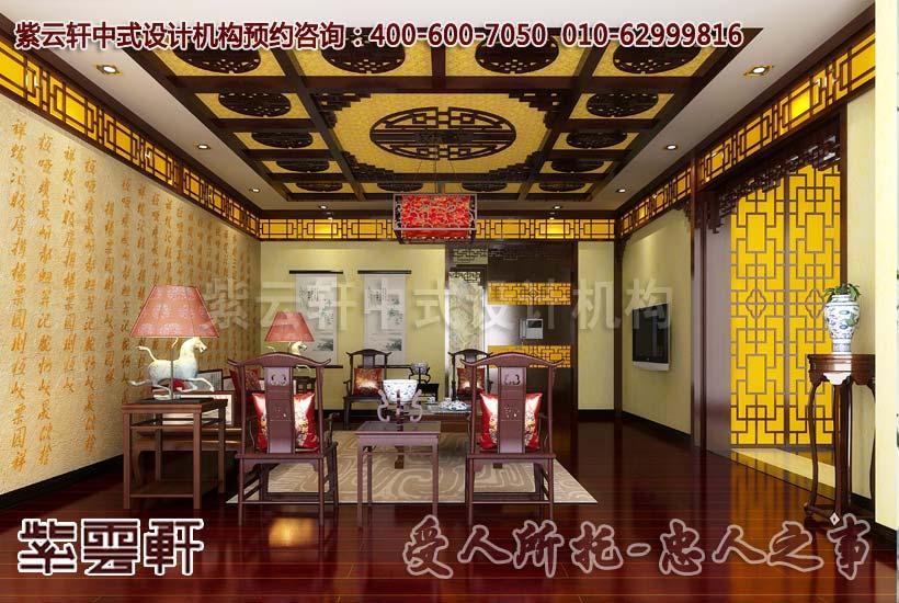 最豪华装修在这里---小户型别墅古典豪华装修效果图展示