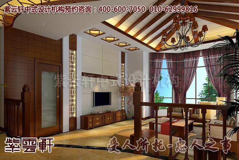 中式风格装修客厅