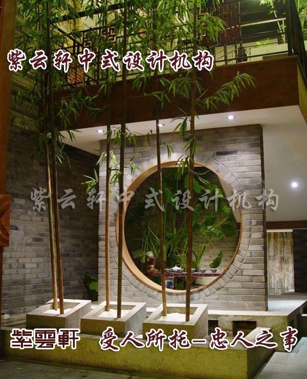 茶楼中式装修一景