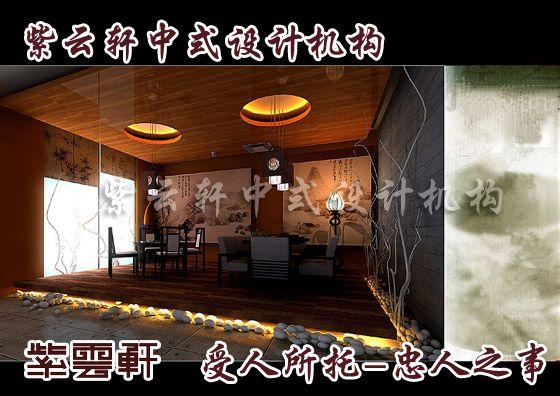 古典中式装修茶楼设计-让心绪归于平静广州新中式