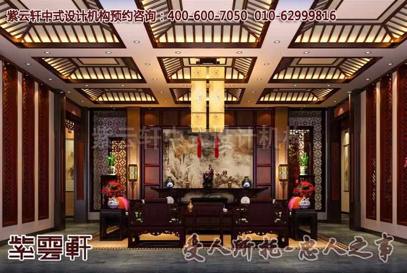 带院子的新古典别墅豪华装修效果图,给你眼前一亮的设计
